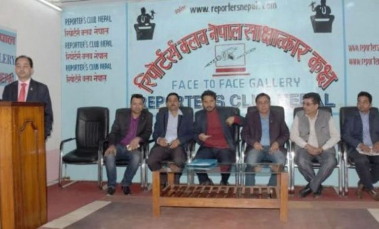 Nepali investors based in india- Photo: Mukunda Kalikote, Reporters' Club Nepal